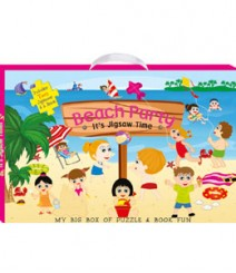 Buy Online Beach Party (My Big Box Of Puzzle & Book Fun) 33-3