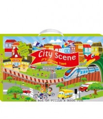 Buy Online City Scene (My Big Box Of Puzzle & Book Fun) 34-0