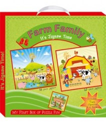 Buy Online Farm Family (My First Box Of Puzzle Fun) 41-8