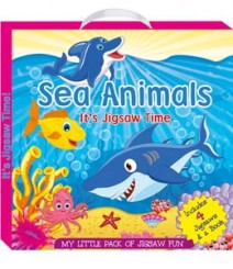 Buy Online Sea Animals (My Little Pack Of Jigsaw Puzzle) 45-6