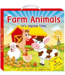 Buy Online Farm Animals (My Little Pack Of Jigsaw Puzzle) 47-0