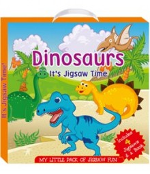 Buy Online Dinosaurs (My Little Pack Of Jigsaw Puzzle) 48-7