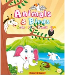 Buy Online Animals & Birds (Colour & Learn) in India 55-5
