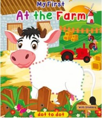 Buy Online At The Farm Colouring Exercises Book 75-3