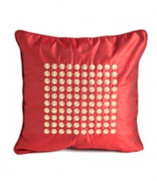 Embroided Filled Circles Cushion Covers Set of 5 VFCC-01