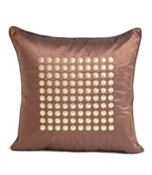 Embroided Filled Circles Cushion Covers Set of 5 VFCC-04