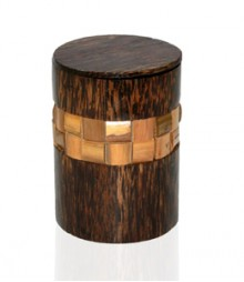 Round Box of Bamboo & Tadiwood OH-CJTB