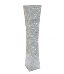 Flower Vase of White Mother of Pearl OH-FVRS24
