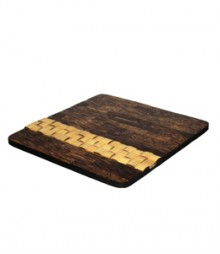 Placemat of Taadiwood & Bamboo Coaster OH-MTB88