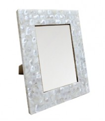 Photo Frame of White Mother of Pearl OH-PFRS57