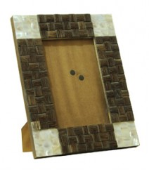 Photo Frame of Taadiwood & White Mother of Pearl OH-PFT4RS6X4