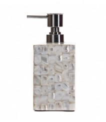 Soap Dispenser of White Mother of Pearl OH-SDPRS