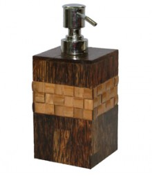 Soap Dispenser of Taadiwood & Bamboo Band OH-SDPTB