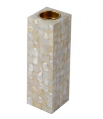 Tea Light of White Mother of Pearl OH-TLRS8