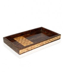 Serving Tray of Taadiwood & Bamboo OH-TTB127