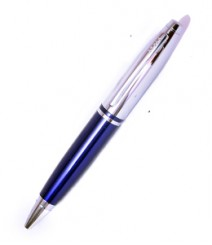 Cross Silver & Blue Roller Ball Pen PRJ01-10-011