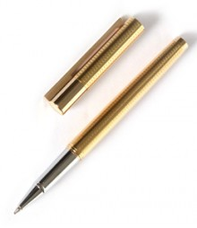 Golden Patterned Designer Ball Pen PRJ028