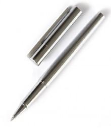 Silver Patterned Designer Ball Pen PRJ029