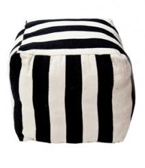 Buy Cotton Stripes Pouf Online - IND-PF-014