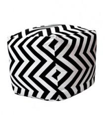 Buy Aztec Cotton Pouf Online - IND-PF-018