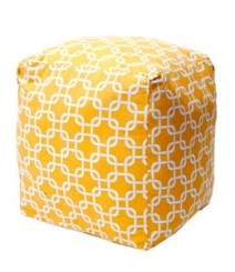Buy Light Links Cotton Pouf Online - IND-PF-019