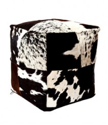 Buy Real Leather Pouf Online - IND-PF-024