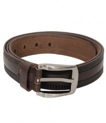 Genuine Stylish look Leather Brown Belt B-1262