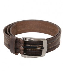 Genuine Designer Leather Thread Stich Belts B-1265