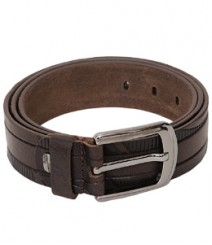 Genuine Designer Leather Brown Belts B-1269