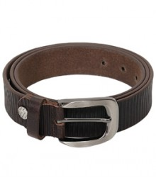 Genuine Leather Streight Lines Designer Belts B-1271