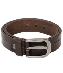 Genuine Designer Leather Brown Belt B-1275