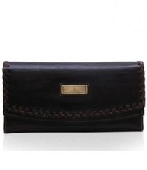 Ladies wallet combo LI-KI-KA6 (Ladies wallet + Leather Keyring + Scarf )