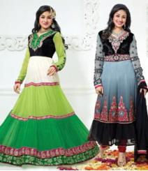 Pure Georgette Semi-Stitched Embroidered Salwar Kameez LFS59007010