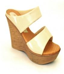 Cream Semi-Formal (Office / Evening Wear) Slip-On Adr17072cr