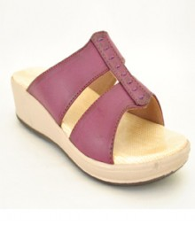 Purple Casual Slip-On Adr59017ppl