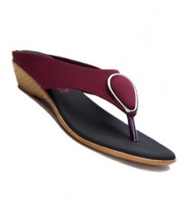 Cherry Color Designer Slip-On DRG7404CH for Women