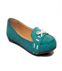 Green Casual Loafer Glsmf467gn