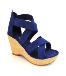 Blue Semi-Formal (Office / Evening Wear) Sandals Glx218blu