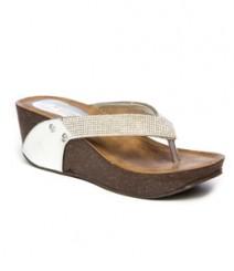 Silver Color Designer Slip-On GLX256SIL for Women