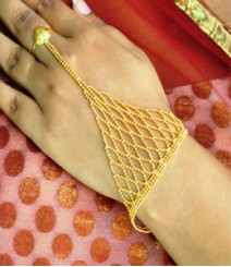 Indian Ethnic Ring Bracelet FSNV06