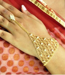 Indian Ethnic Ring Bracelet FSNV07