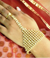 Indian Ethnic Ring Bracelet FSNV08