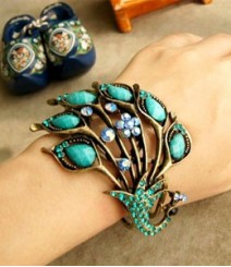 The Turquoise Peacock Bracelet FSNV37