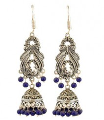 Pihu Jhumkis FAAPER03 Earrings Made from German Silver