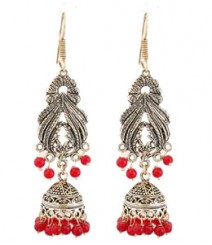Pihu Jhumkis FAAPER04 Earrings Made from German Silver
