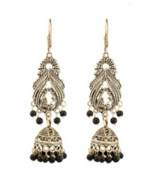 Pihu Jhumkis FAAPER05 Earrings Made from German Silver