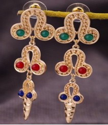 The Exclusive Multicolored Earrings FSNV12