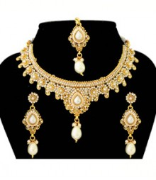 Gargi Jewelry Set FAAPER24 Made from Alloy with Gold Plating