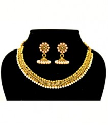 Agathi Jewelry Set FAAPER26 Made from Alloy with Gold Plating