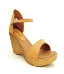 Beige Semi-Formal (Office / Evening Wear) Sandals Nic3908bg